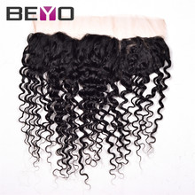 Peruvian Lace Frontal Closure Curly Hair 13×4 Peruvian Curly Hair Lace Frontal Weave Peruvian Virgin Hair Curly Lace Frontal