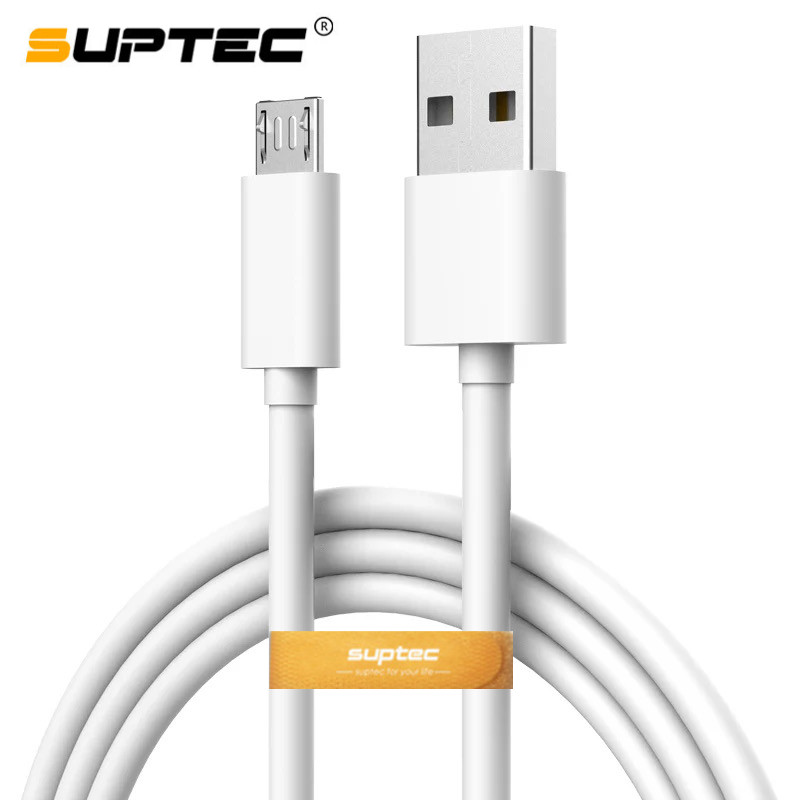 SUPTEC Micro USB Cable 2A Fast Charger USB Data Cable Mobile Phone Charging Cable for Samsung Xiaomi Huawei 0.25m/1m/1.5m/2m/3m|Mobile Phone Cables| - AliExpress