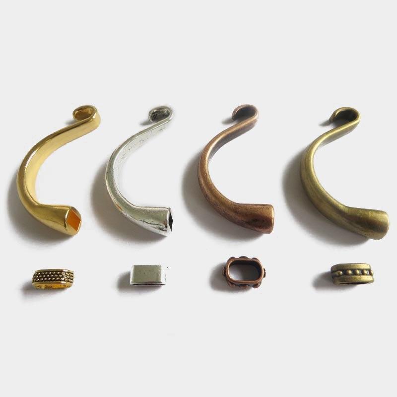 ₩3 unids medio manguito gancho corchete pulsera joyería Accesorios ...