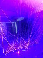 Лазерная Костюм, жилет, жилет лазерной для шоу