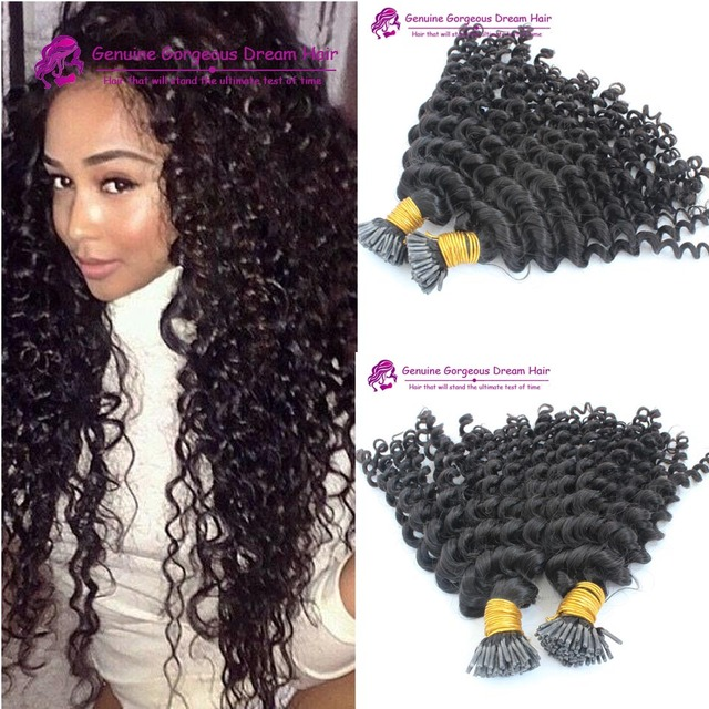 Best quality 8a 2pclot kinky curly i tip hair extensions 100 gram best quality 8a 2pclot kinky curly i tip hair extensions 100 gram per pack pmusecretfo Image collections