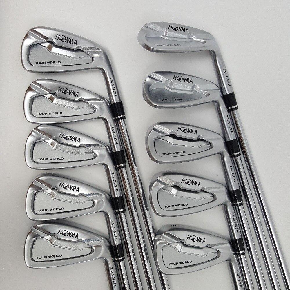10 pièces De Golf clubs HONMA World Tour TW737P set de fer Fer Groupe 3-11.SW Fers manche graphite R/S flex De Golf