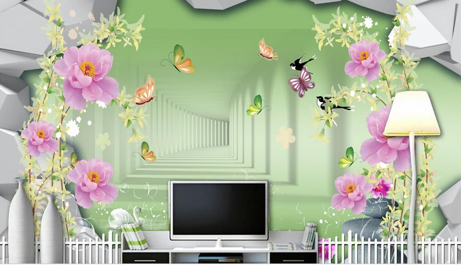 farmhouse style 3d mural wallpaper custom 3d landscape wallpaper Roses living room wall paper Background wall beibehang friendly lovely cartoon cars wallpapers roll kids room decoration wall paper roll non woven boys bedroom wallpaper