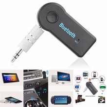 Universal 3.5mm Car Bluetooth Audio Music Receiver Adapter Auto AUX Streaming A2DP Kit for Speaker Headphone free shipping handfree car bluetooth music receiver universal 3 5mm streaming a2dp wireless auto aux audio adapter connector mic for phone mp3