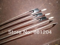5 PCs Best quality Baroque VIOLIN Bow 4/4, Snake wood bow 1014#