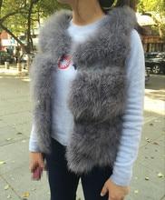 S1570 New Real Ostrich Feather Fur Gilet Women Or  Genuine Turkey Fur Short Vest Lady Three tier