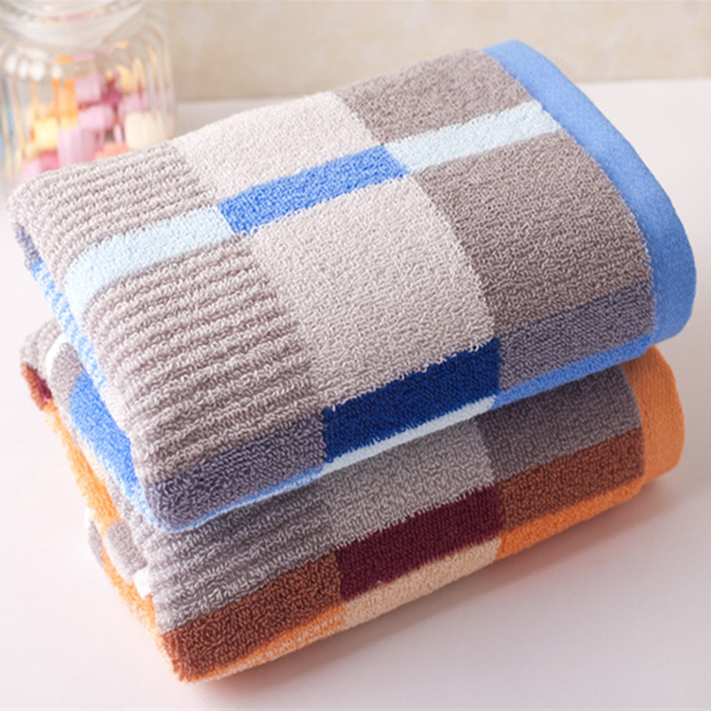 Direct manufacturers 35x75cm cotton towel promotion  Face Hand Towel High Quality Brand Bath Soft Set New 100g