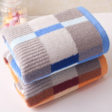 Direct manufacturers 35x75cm cotton towel promotion  Face Hand Towel High Quality Brand Bath Soft Set New 100g