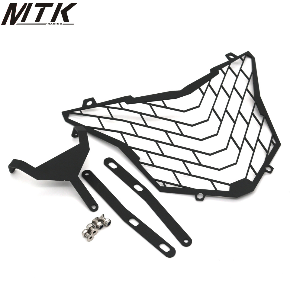 For HONDA CB500X CB 500X 2016-2017 Motorcycle Accessories Headlight Grille Guard Cove mtkracing motorcycle accessories headlight grille guard cover for honda cb500x cb 500x 2016 2017