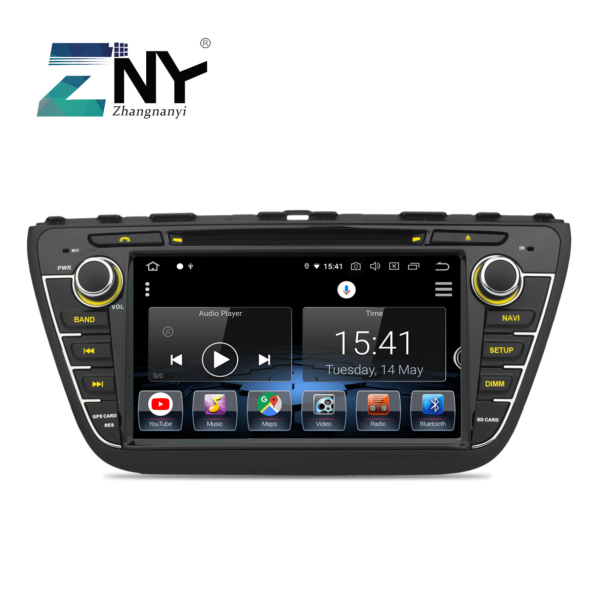 8 IPS Android 9.0 Car DVD Radio For Suzuki SX4 S Cross 2014 2015 2016 GPS Navigation 2 Din Multimedia Video Stereo Gift Camera