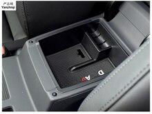 Автомобиль Подлокотник ящик для хранения Контейнер держатель наклейки автомобильные аксессуары для укладки для 2016 2017 2018 Фольксваген Passat B8