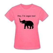 """""""Hey, I am Vegan too"""" women's shirt"""