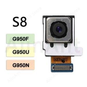 Image 3 - لسامسونج غالاكسي S8 S9 زائد G960F G965F G950f G955f الأصلي الرئيسية الخلفية كاميرا عودة فليكس كابل الهاتف إصلاح أجزاء