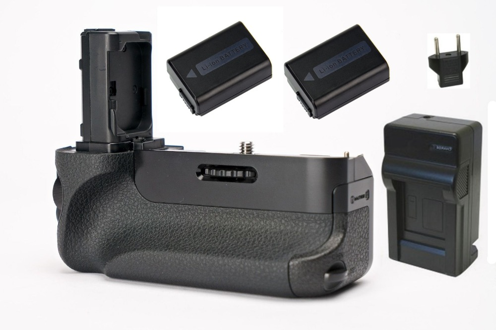 VG C1EM VGC1EM Battery Grip 2X NP FW50 FW50 Battery Charger for Sony a7 a7r a7s
