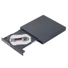 In stock Ultral Thin USB 2 0 Load Optical CD RW DVD Player font b Drive