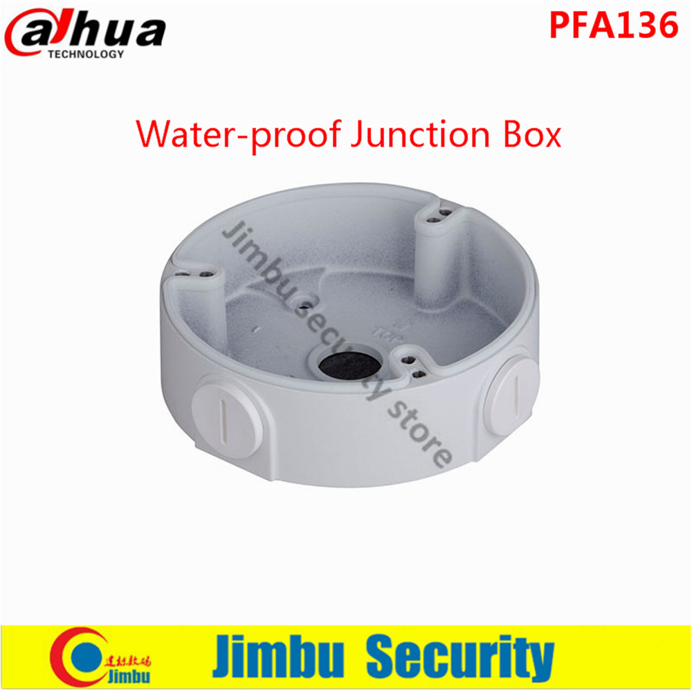 DAHUA Water-proof Junction Box PFA136 IP Camera Brackets Camera Mounts PFA136 dahua pfa130 water proof junction box cctv accessories ip camera brackets pfa130