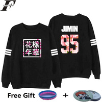 Bangtan Boys Kpop BTS Women Hoodies Sweatshirts Letter Printed In J HOPE 94 And SUGA 93