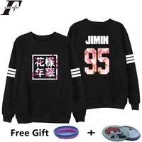 Bangtan Boys Kpop BTS Women Hoodies Sweatshirts Letter Printed In J HOPE 94 And SUGA 93