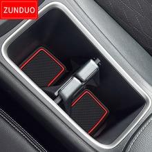 ZUNDUO Gate slot pad  For HONDA Japan in southeast Asi SHUTTLE GK8/9 GP7/8  Non-slip mats Interior Door Pad/Cup red/white/black