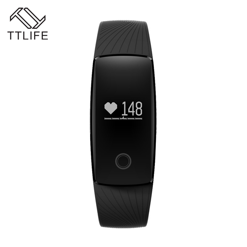 TTLIFE Smart Wristband Bracelet Sleep Activity Monitor Band Alarm Clock Waterproof For IOS Android Pk Fitbits