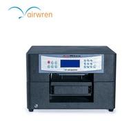 Hohe Qualität A4 Größe Dtg Textildrucker Digitalen Flachbett T-shirt Druckmaschine