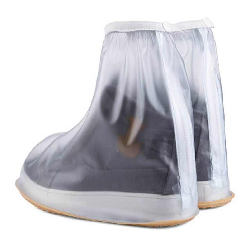Waterproof reusable Rain shoes cover Zipper Rain Boots Overshoes Women/men/children PVC thicken Cycle Travel Shoes Accessories special package mail between children s rain boots shoes cartoon water hero boy league men s shoes boots