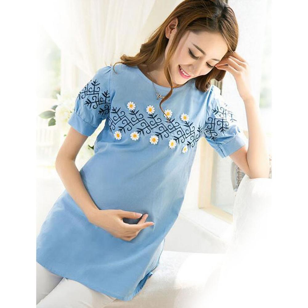 2018 Summer Maternity Clothing For Pregnant Women Clothes Fashion ...