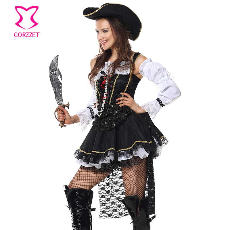 Sexy Pirate Costume Halloween Sexy Costumes For Adults Cosplay Women Carnival Party Swashbuckler Fantasia Pirate Hat Fancy Dress-in Holidays Costumes from ...  sc 1 st  AliExpress.com & Sexy Pirate Costume Halloween Sexy Costumes For Adults Cosplay Women ...