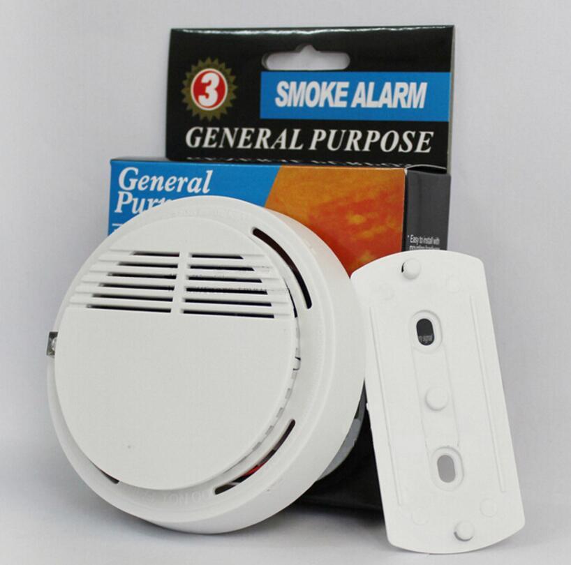 Portable Suction ceiling home hotel wireless smoke sensor SS-168 freestanding smoke smoke alarm fire alarm with CE certification