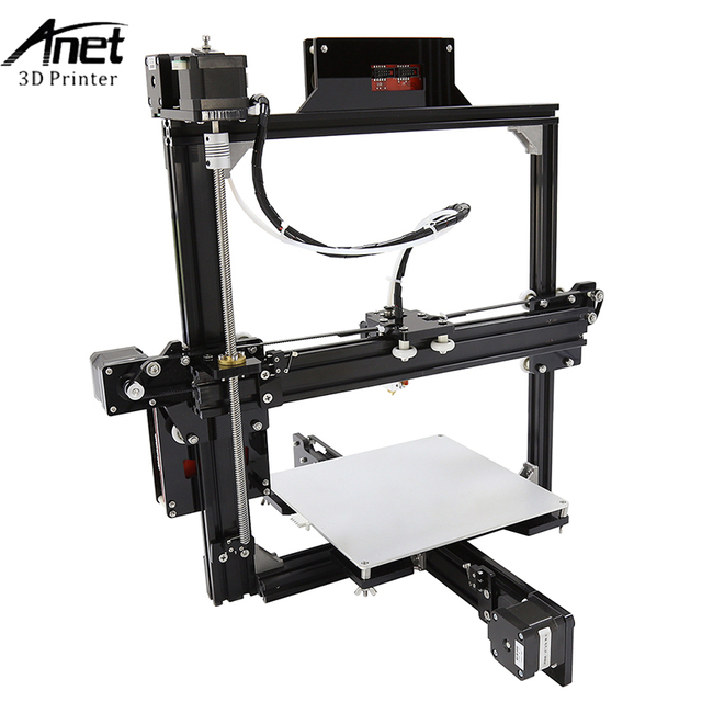 Anet A2 3d Printer Large Printing Size 220*270*220mm Full Metal Frame 3D Printer Kit DIY Easy Assemble With Free 10m Filaments 3
