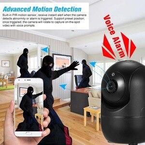 Image 5 - 1080P kamera WIFI bezprzewodowy niania elektroniczna Baby Monitor IP kamery detekcja ruchu noc wizja bezpieczeństwo w domu kamera WIFI bezpieczeństwa zestaw do organizacji