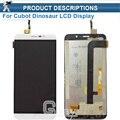 Branco/Ouro Para Cubot Dinossauro DIsplay LCD Completa + Touch Screen Digitador Assembléia Substituição + ferramentas Gratuitas