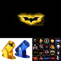 3D Yellow Batman Logo Motorcycle Ghost Shadow Spotlight Laser Projector LED Logo Light -