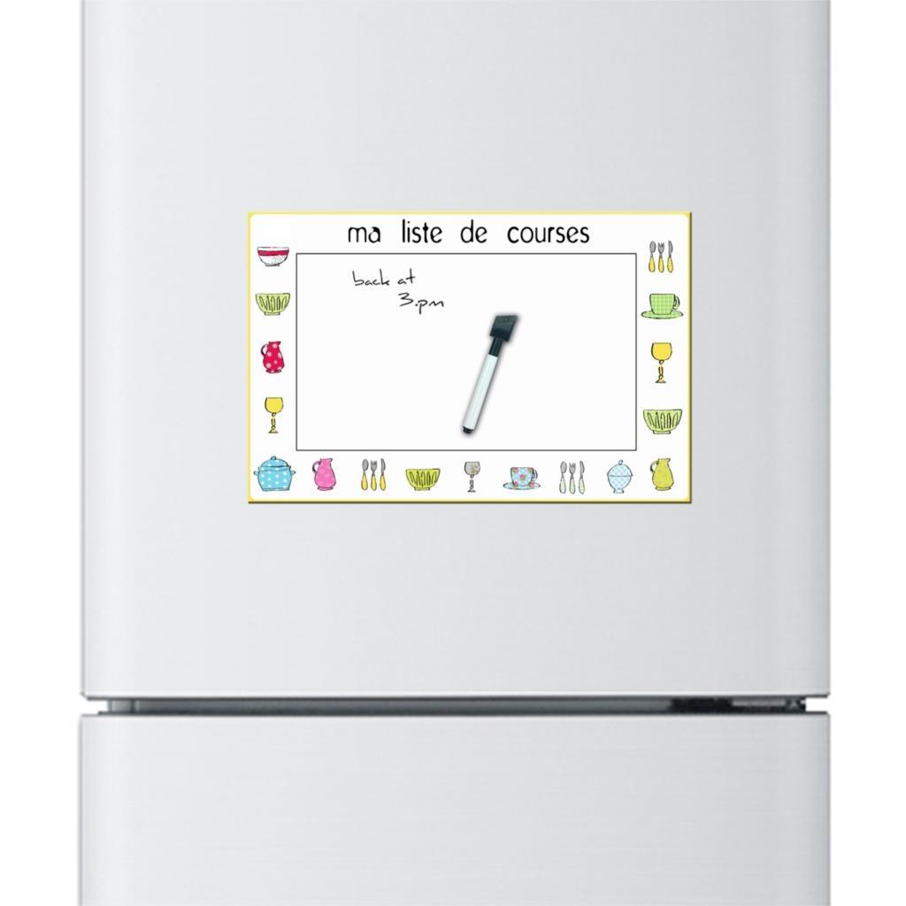 Kitchen Whiteboard 4 Piece Stainless Steel Package 2pcs Cartoon Style Custom Dry Erase Flexible