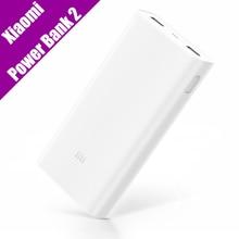Оригинал Xiaomi Power Bank 2 20000 мАч Портативное Зарядное Устройство с Двумя USB Mi Powerbank Внешняя Батарея для Iphone Huawei Samsung(China (Mainland))