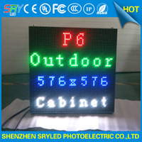 Outdoor Video Stage Performance LED Wall P6 Full Color Rental Outdoor HD LED Screen Display