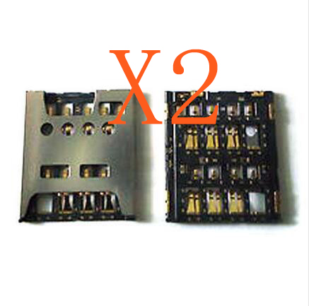 2 X Sim Reader Card Holder Connector Slots Replacement For Sony Xperia Acro S LT26W Sim Parts New In Stock + Tracking ...