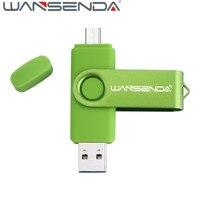 High Speed Wansenda 32gb OTG Usb 3 0 USB Flash Drive 64gb Pendrive 8gb Memory Stick