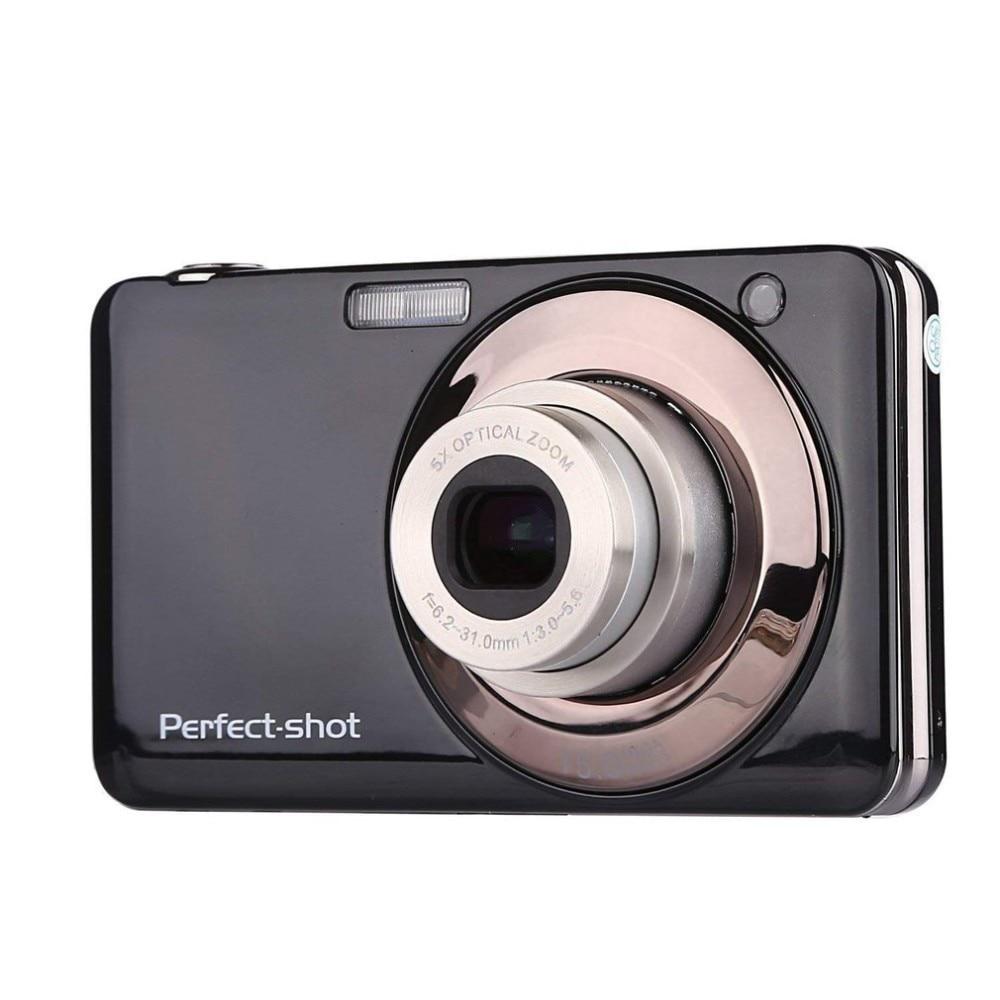 24 мегапиксельная портативная цветная компактная HD 8x фокусировка, масштабирование, фото, видеозапись, цифровая камера с JPEG, Avi, SD картой, анти
