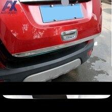 AX для Opel Vauxhall Mokka Buick Encore 2013- хромированная накладка на заднюю дверь багажника