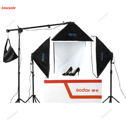 Photography studio SLH4 Studio Set photographic lamp small studio lighting photographic equipment Flexo Box CD50 T07
