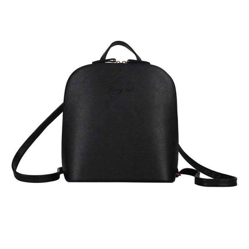 New Spring Women PU Leather Multifunction Shoulder Bag Casual Travel Satchels Mochila Messenger Bag