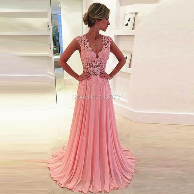 lange party dress