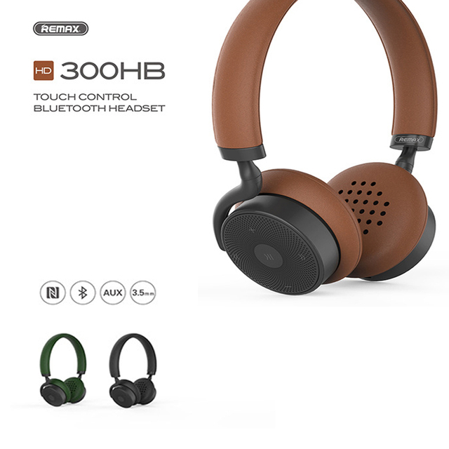Remax Rb 300hb High Quality Bluetooth Music Headphones Hifi Music