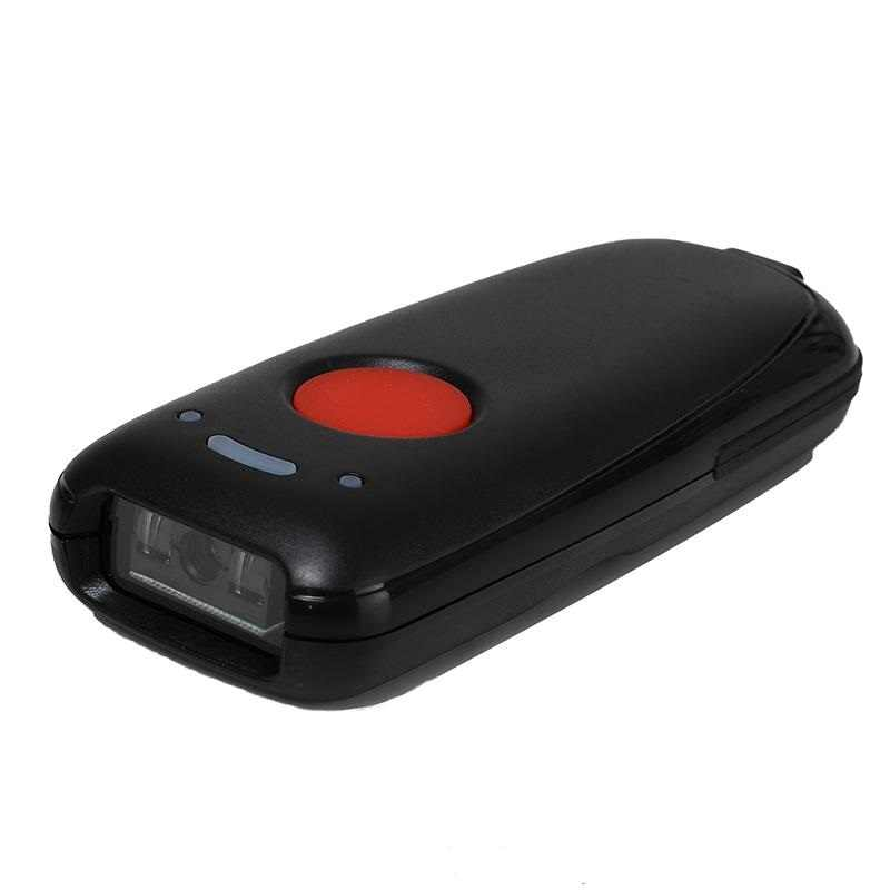 Scanhero Pocket Wireless Bluetooth Barcode Scanner Laser Portable Reader  Red Light CCD Bar Code Scanner for IOS Android Windows
