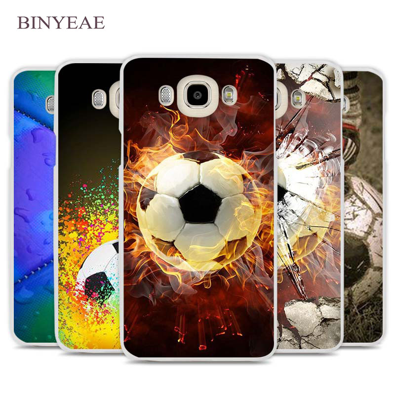 Binyeae Football Soccer Ball Design Cell Phone Case Cover For Samsung Galaxy J1 J2 J3 J5 J7 C5 C7 C9 E5 E7 2016 2017 Prime Cellphones & Telecommunications Half-wrapped Case