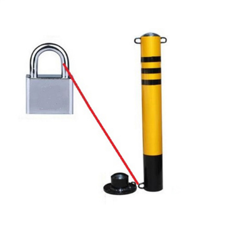 Manual Garage Lock / Parking Space / Anfts Parking Lock Parking Lot Lockable Movable Pillar Pillar Buffer Pillar Protective Pile