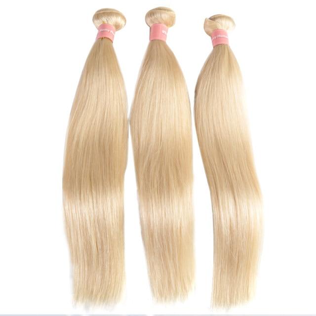 Online Shop Ali Queen Hair 613 Blonde Hair Bundles Straight Human
