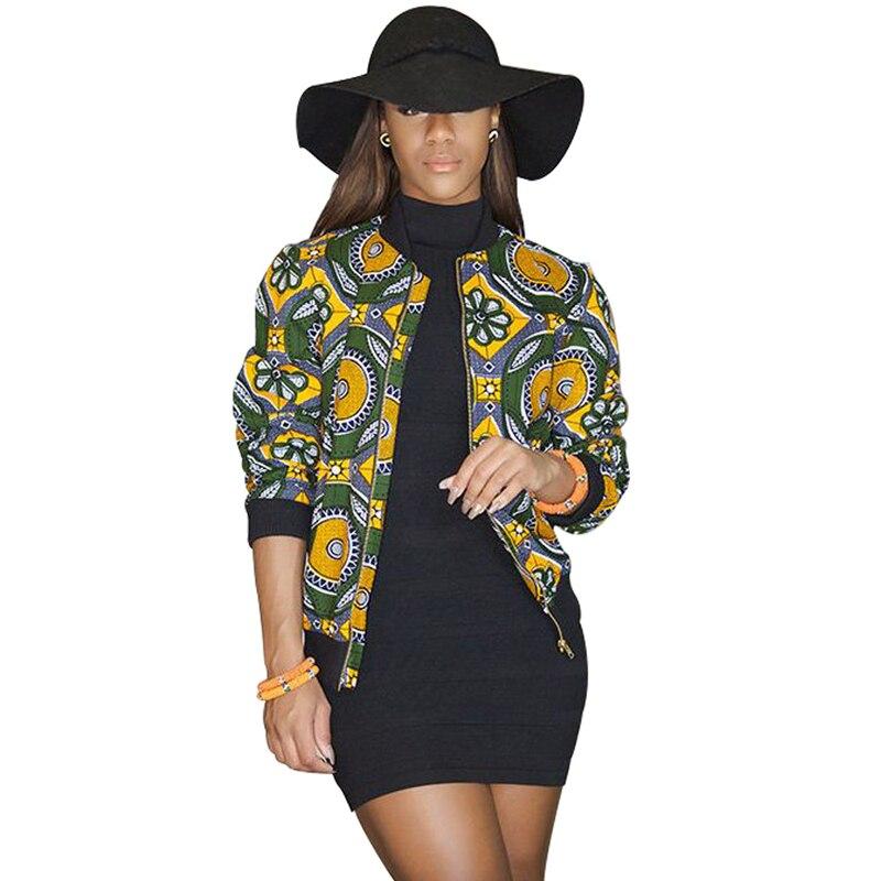 spring autumn summer 2017 African coat ankara wax batik print long sleeve jacket cotton splicing batiks Men and women can wear