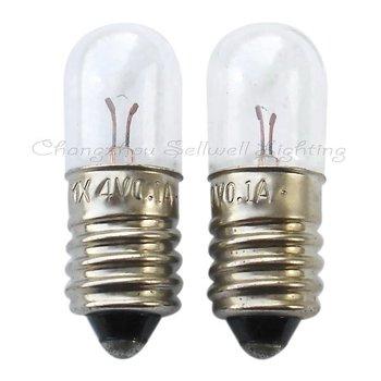 New!miniature Light Bulb 4v 0.1a E10 T10x28 A112